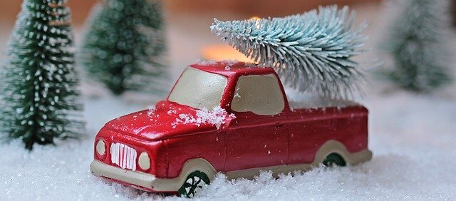 Julen har kommit till Bäck